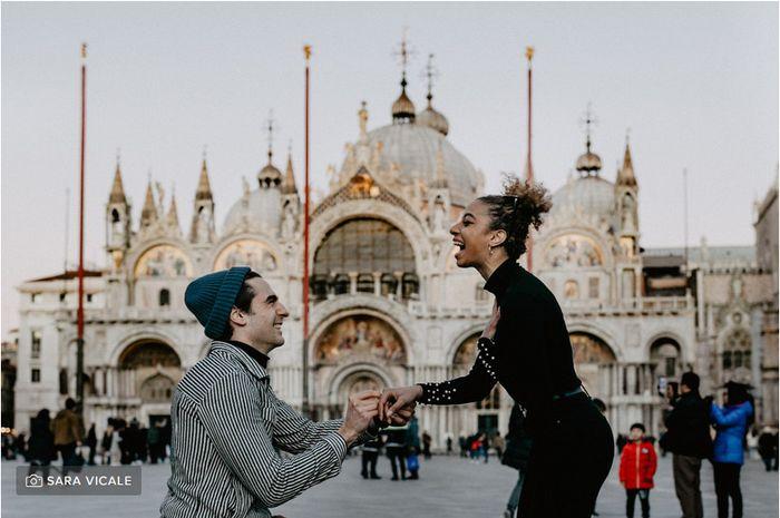 Avete una foto del momento della proposta? 💍📸 1