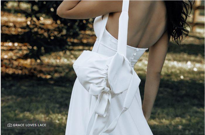 Vi piacerebbe una borsetta per il vostro look sposa? 1