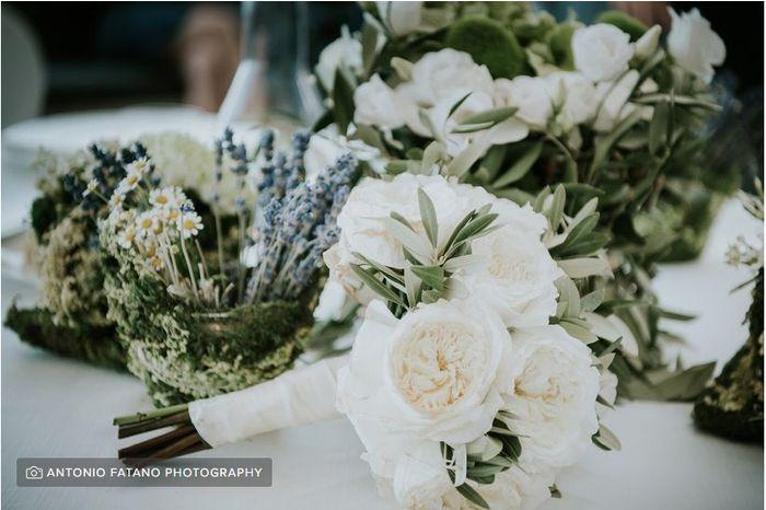 La scelta dei fiori per le nozze 1