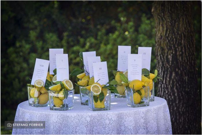 Ispirazioni per matrimonio a tema limone 🍋 1