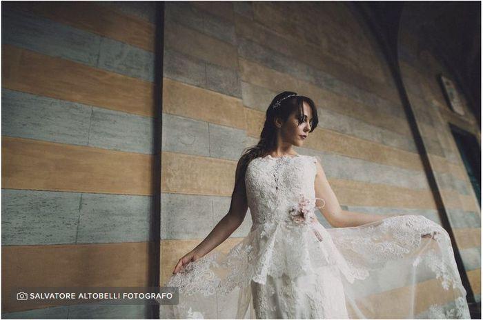 Vi piacerebbe indossare l'abito da sposa di vostra madre? 1