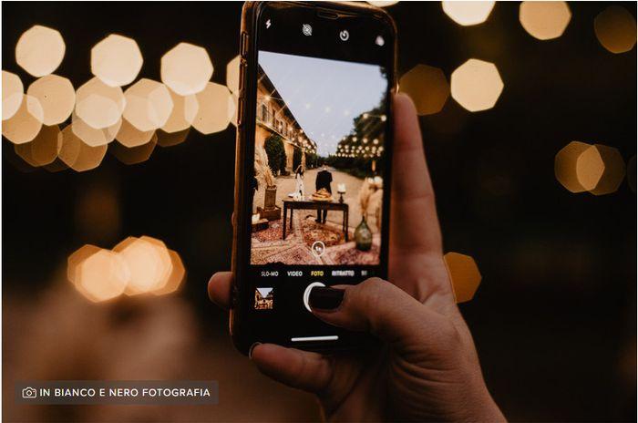 Condividerete le foto delle vostre nozze sulle reti sociali? 1