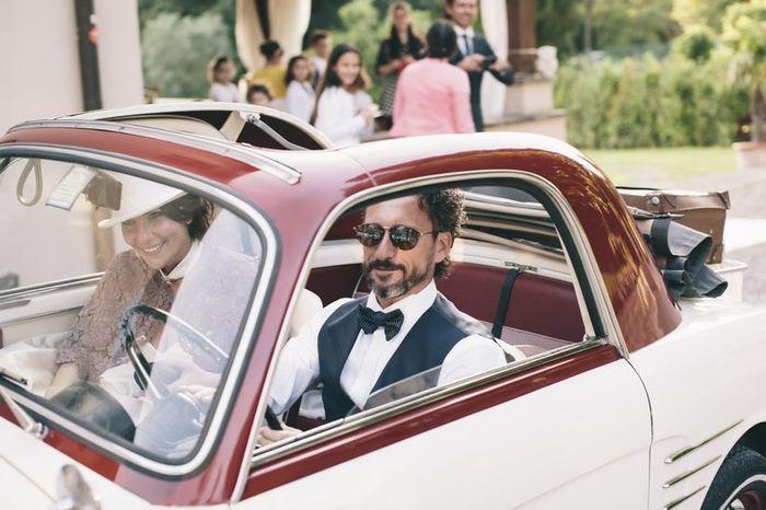 Auto decapottabile per le nozze: sì o no? 1