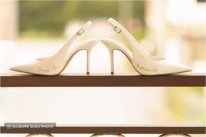 Personalizzerete le vostre scarpe da sposa? 1