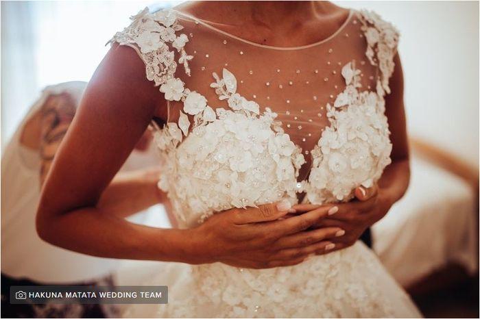 Amore a prima vista per l'abito da sposa? 1