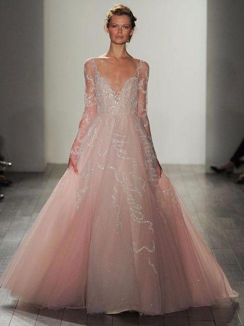 690d36fb0f5e Ottobre rosa  ispirazioni per abiti da sposa rosa - Moda nozze ...