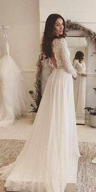 c50d132d8aa6 Con quanto anticipo avete comprato il vestito da sposa  - Moda nozze ...
