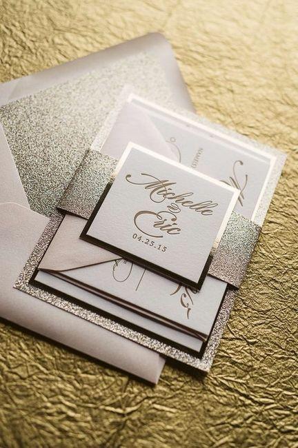 Partecipazioni Matrimonio Glitter.Quale Stile Di Partecipazione Di Nozze Sceglierai Pagina 4
