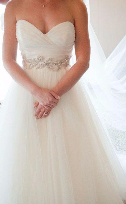 Scollo abito da sposa