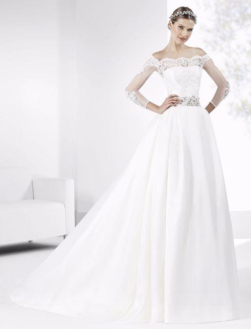 Scopri il colore delle tue nozze....l'abito da sposa 1