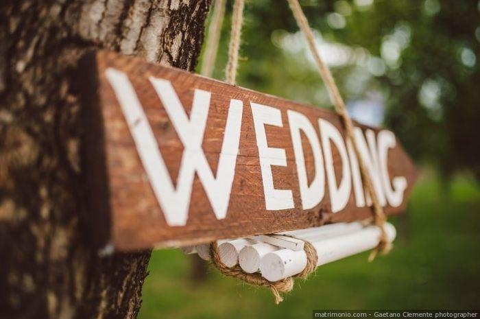 Cartelli di nozze