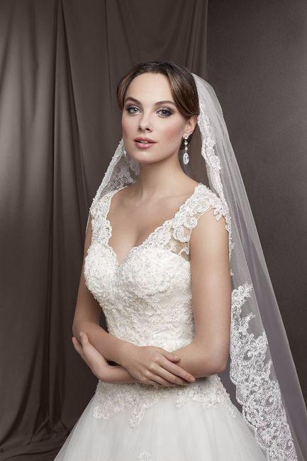 Velo su abito da sposa