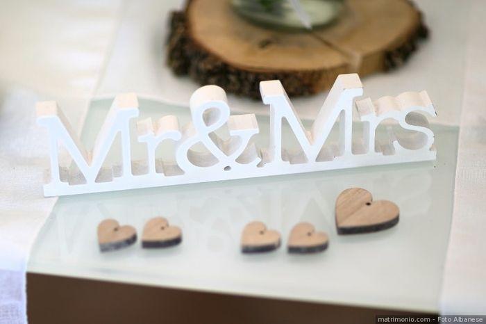 I dettagli di un matrimonio sono... 1