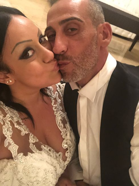 Il primo Selfie da sposati!! 😜❤️📷💒 11