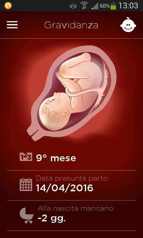 Countdown gravidanza - 1