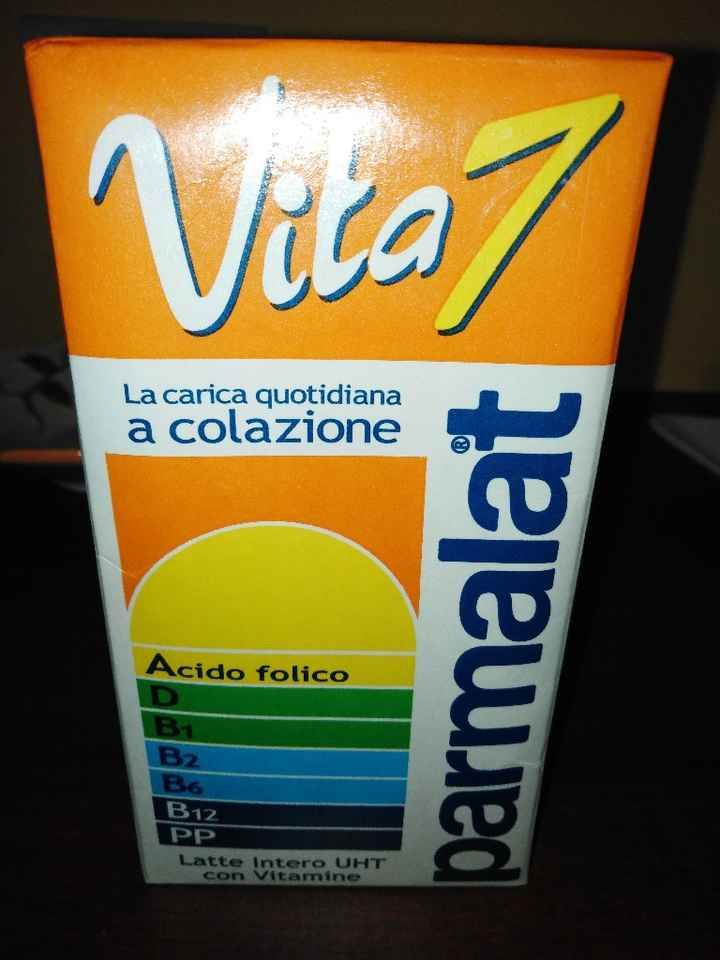 Latte con acido folico - 1