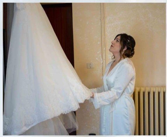 Foto della Camera da letto il giorno delle nozze 13