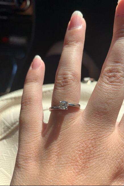 I vostri anelli di fidanzamento: vogliamo vederli! 10