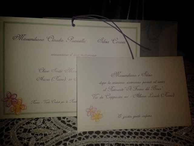 Le vostre partecipazioni di nozze - 3