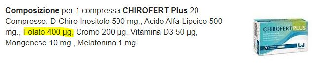 Chirofert plus 1