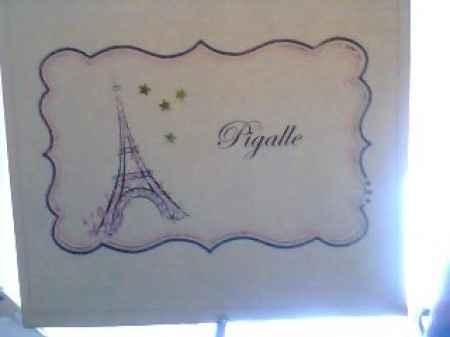 segnatavolo parigi