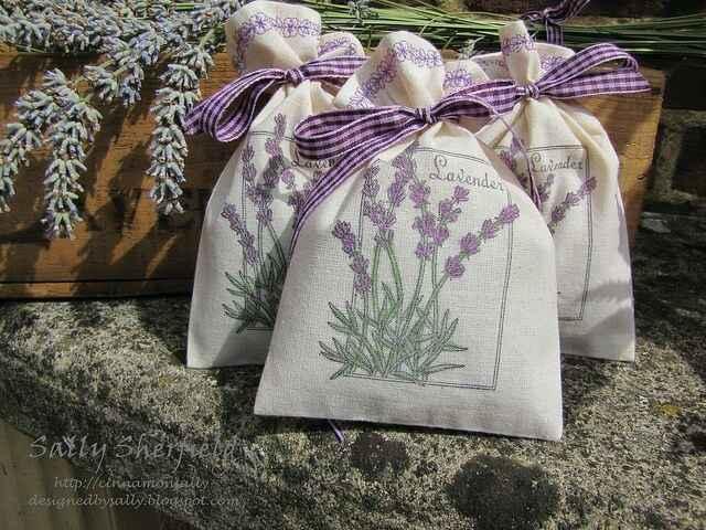 Bomboniere: sacchetti di lavanda - 13