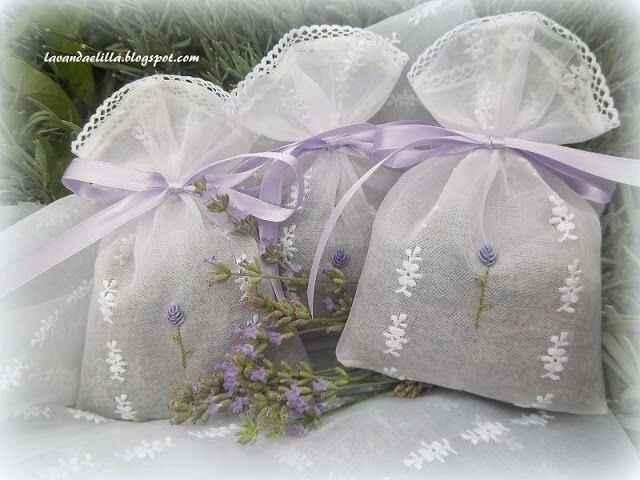 Bomboniere: sacchetti di lavanda - 20