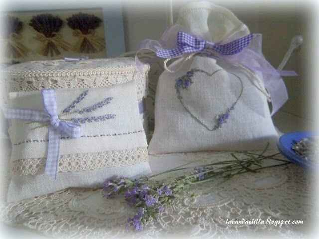 Bomboniere: sacchetti di lavanda - 22