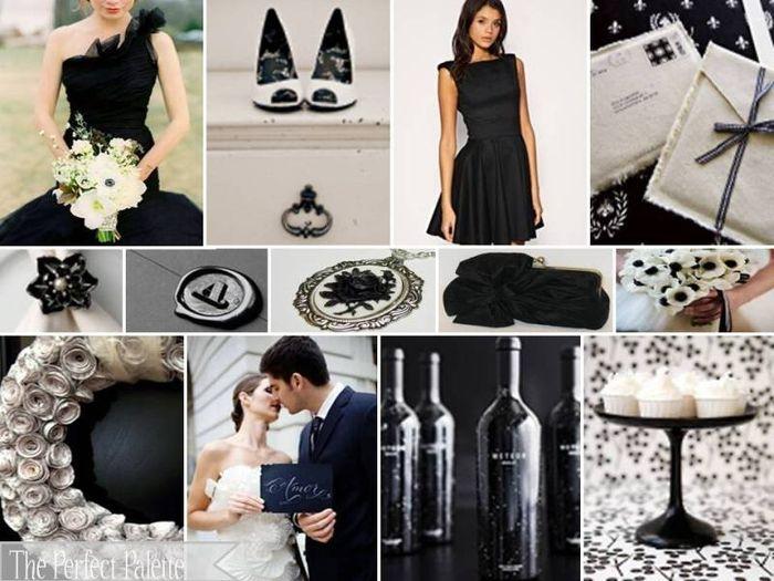 Matrimonio In Nero : Tema bianco e nero organizzazione matrimonio forum matrimonio.com
