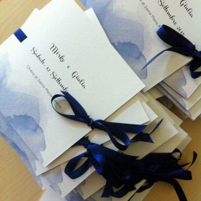 Idee Per Matrimonio Tema Girasoli : Partecipazioni blu organizzazione matrimonio forum