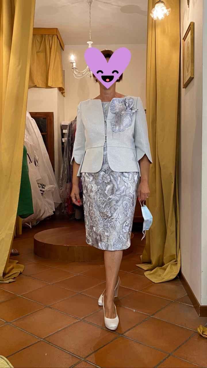 Finalmente il vestito della mamma della sposa 😍 - 1