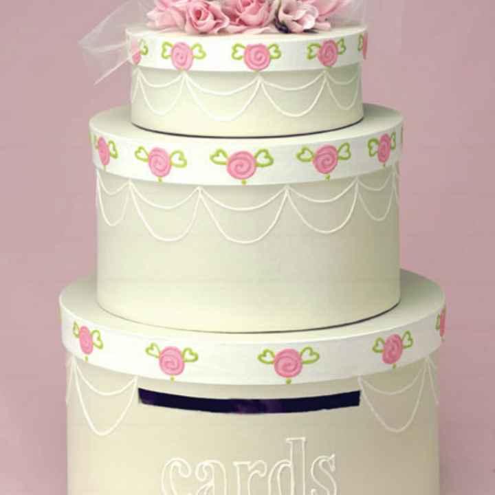 "Torte ""salvadanaio"" di cartone - 1"