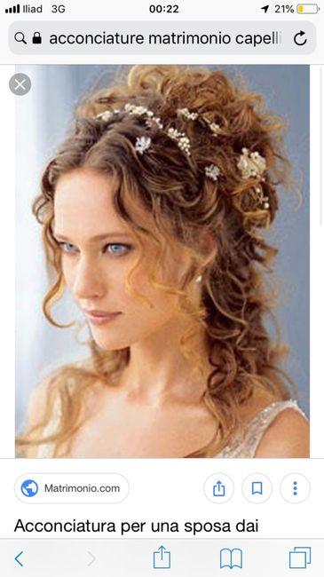Il segno zodiacale delle tue nozze - l'acconciatura - 1