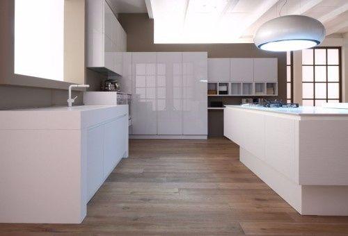 Jessy dome modern house vivere insieme forum - Cucine total white ...