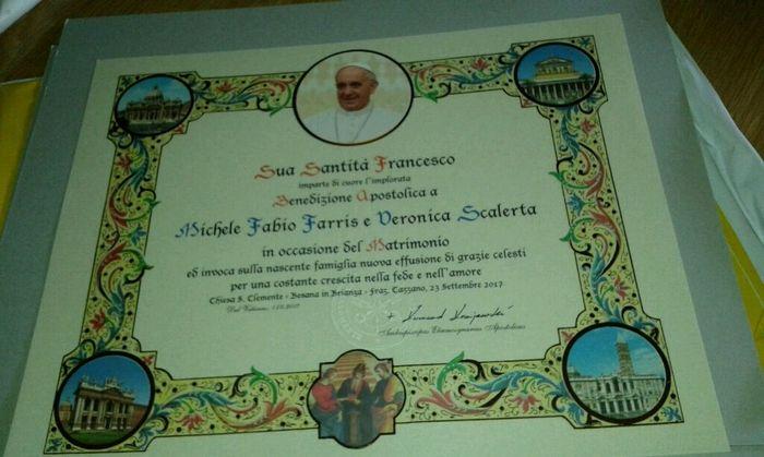 Benedizione papa - 1