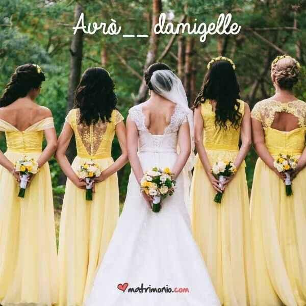 Vestiti gialli da damigelle - 1