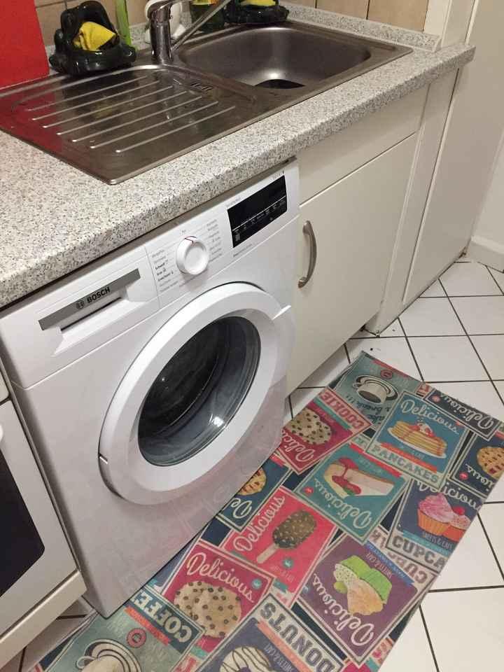 Lavatrice in cucina esaurita aiuto - 1