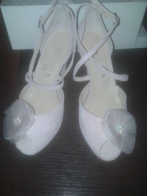 Le mie scarpe shabby chic - 1