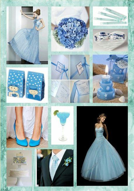 Azzurro Fiordaliso Matrimonio : Vorrei un matrimonio color azzurro pagina