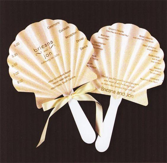 abbastanza Ventagli con palette - Fai da te - Forum Matrimonio.com ZP41