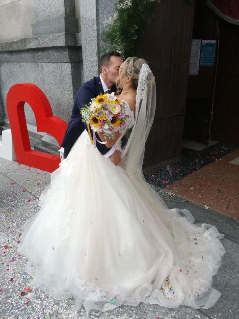 Il nostro amato matrimonio a colori 🌈 26