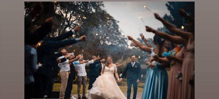 Il nostro amato matrimonio a colori 🌈 40