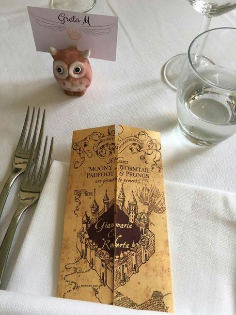 Tavoli Matrimonio Tema Harry Potter : Nozze tema harry potter ricevimento di forum