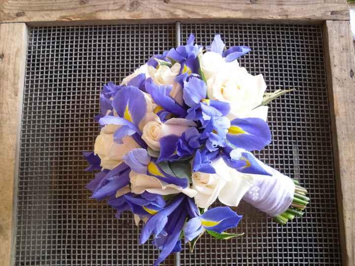 Bouquet lilla e bianco - 1
