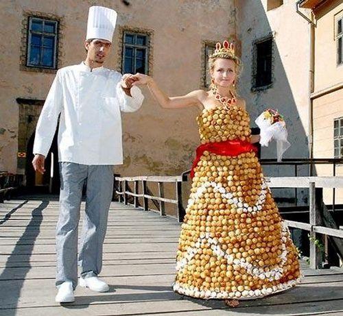 Estremamente Abiti da sposa strani - Moda nozze - Forum Matrimonio.com IK75