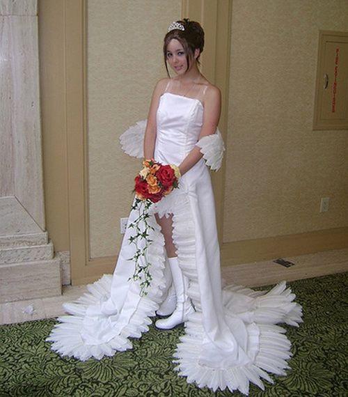 Molto Abiti da sposa strani - Moda nozze - Forum Matrimonio.com YX33
