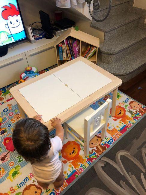 Tavolo e sedie bimbo 16 mesi - 1