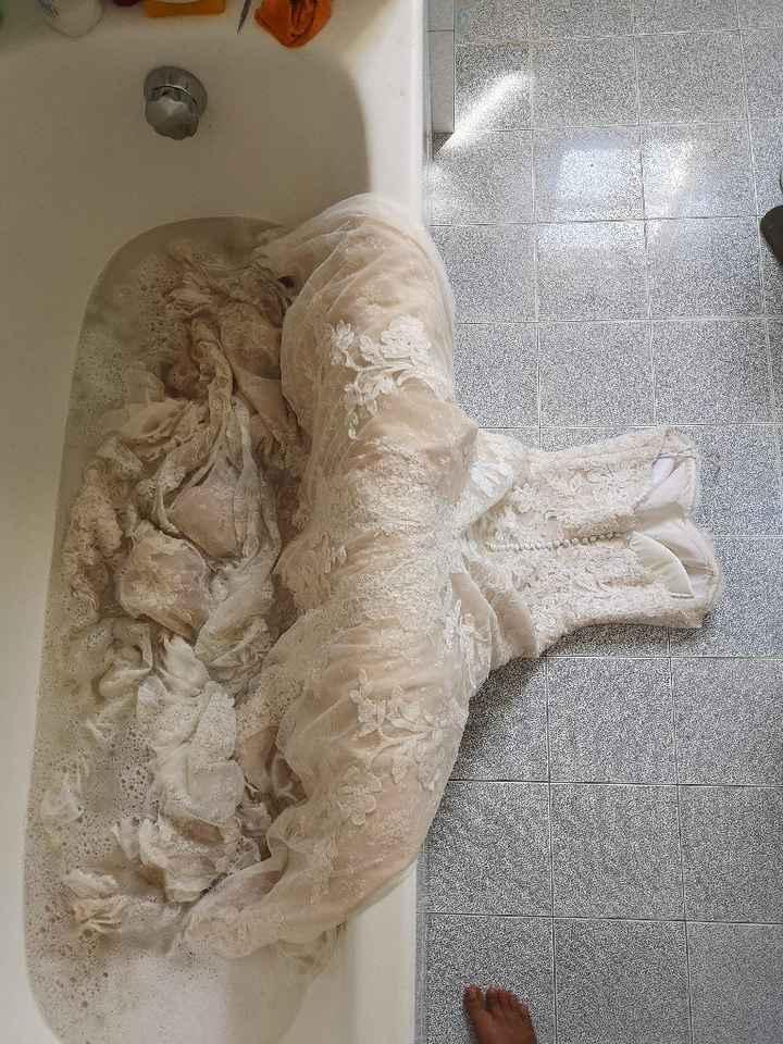 Lavare l'abito da sposa update - 2