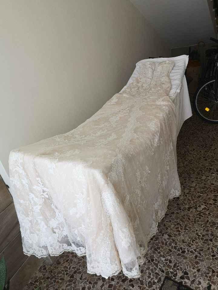 Lavare l'abito da sposa update - 3