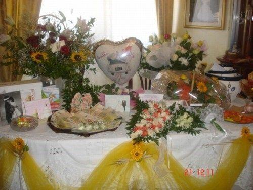 tavolo regali foto organizzazione matrimonio